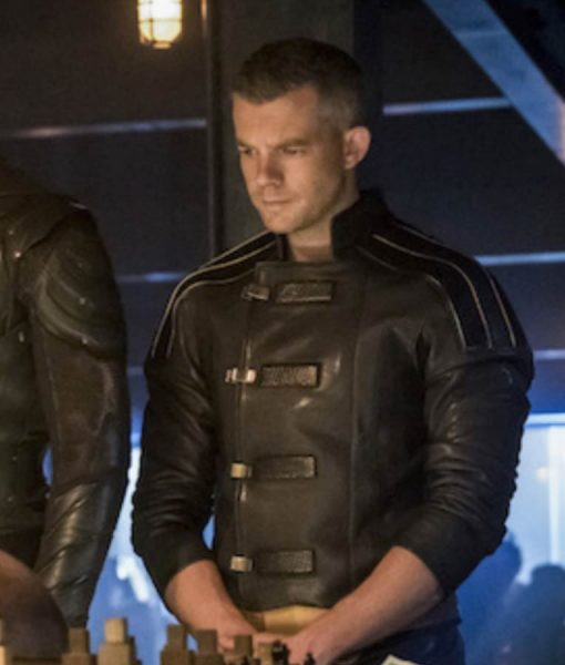 Ray Terril Crisis On Earth-X Leather Jacket
