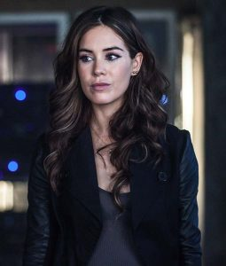 Roxanne McKee Dominion Claire Riesen Double Breasted Jacket