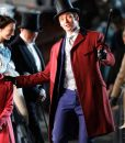 The Greatest Showman Red Trench Coat