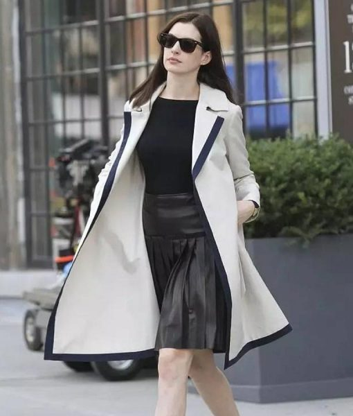 Anne Hathaway The Intern Coat