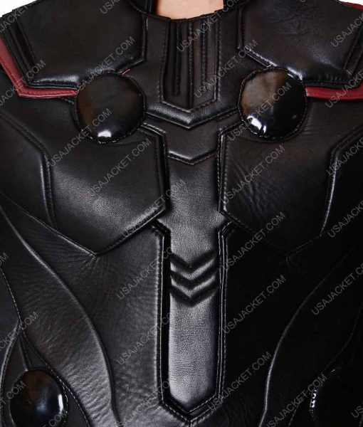 Thor Inifnity War Leather Vest