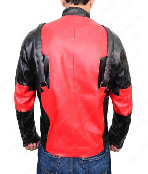 Deadpool Gaming Lether Jacket