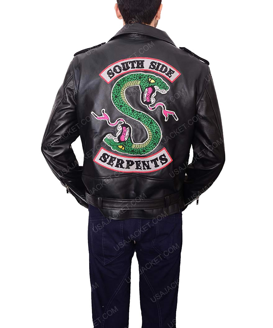 Riverdale Southside Serpents Jughead Jones Sprouse Leather Jacket