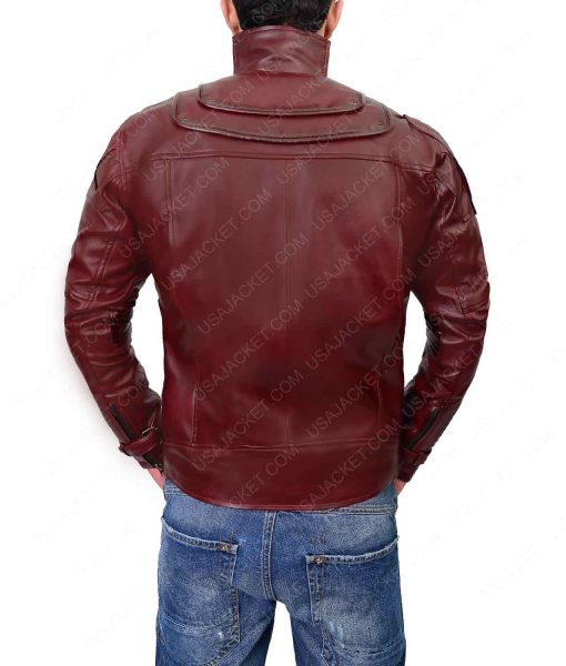 Avengers Infinity War Chris Pratt Leather Jacket