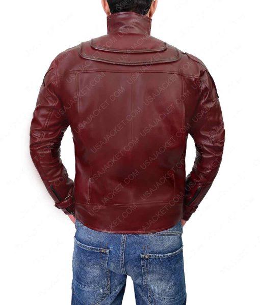 Avengers Infinity War Chris Pratt Leather Jacket