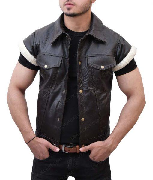 John Marston Cowboy Leather Vest