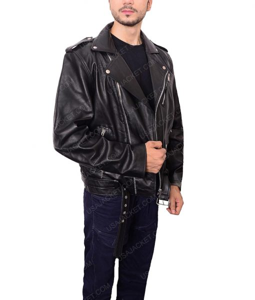 Jughead Jones Black Leather Jacket