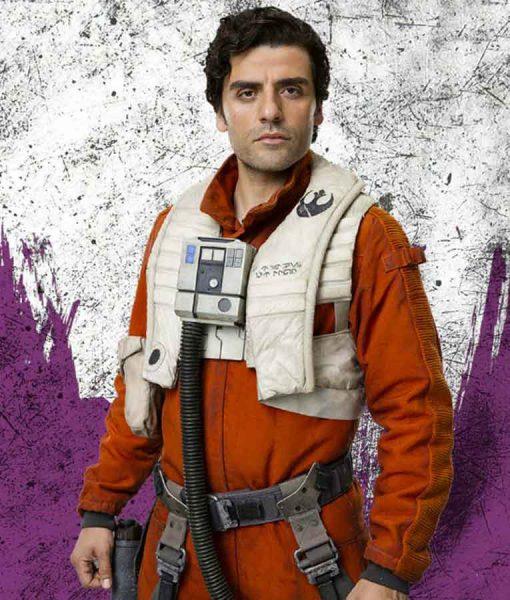 Poe Dameron Fighter Pilot Orange Jacket