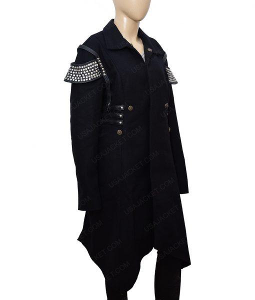 Katee Sackhoff The Flash Season 4 Amunet Blacksmith Trench Coat