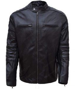 Accident Man Mike Fallon Scott Adkins Black Jacket