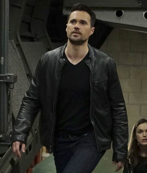 Agents Of Shield Grant Ward Black Jacket