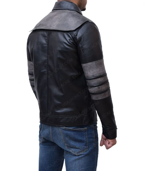 Leo Fitz Leather Jacket