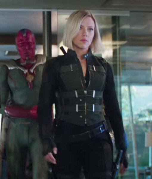 Natasha Romanoff Avengers Infinity War Vest