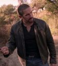 Colton MacReady Scott Adkins Brown Leather Jacket