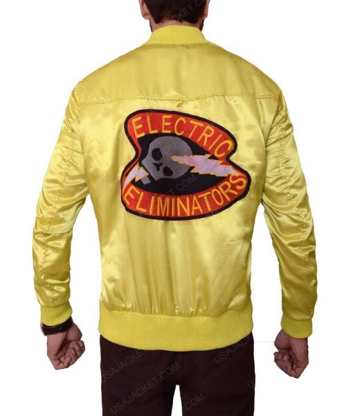 The Warriors Yellow Satin Jacket