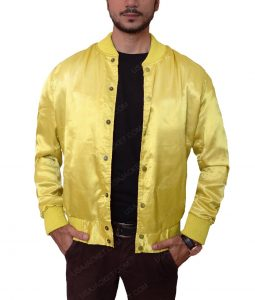 Electric Eliminator The Warriors Yellow Satin Jacket