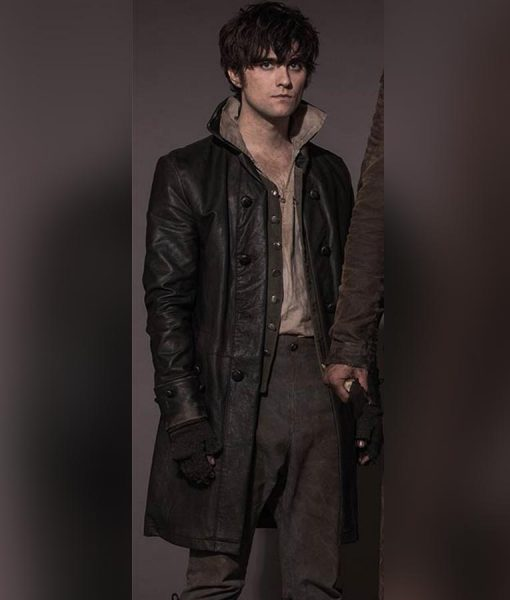 Landon Liboiron Frontier Trench Coat