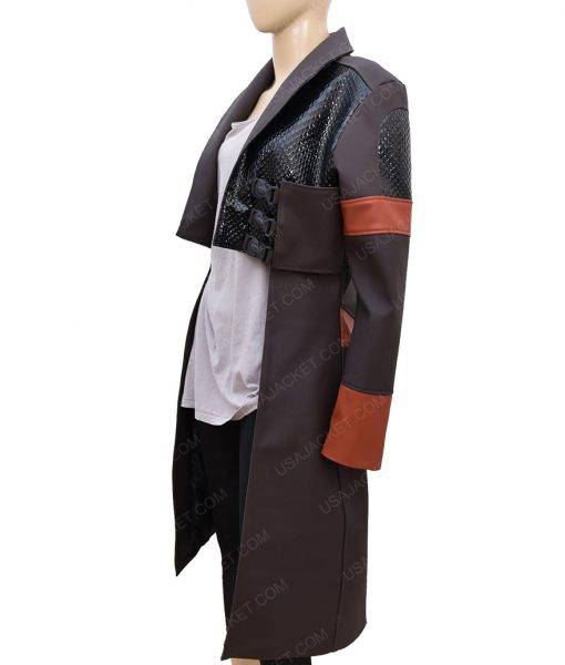 Guardians Of The Galaxy Gamora Leather Jacket