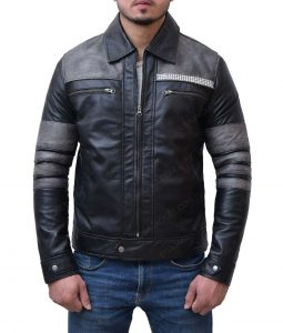 Iain De Caestecker Agents Of Shield Leo Fitz Leather Jacket
