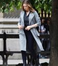 Ilsa Faust MI6 Grey Trench Coat