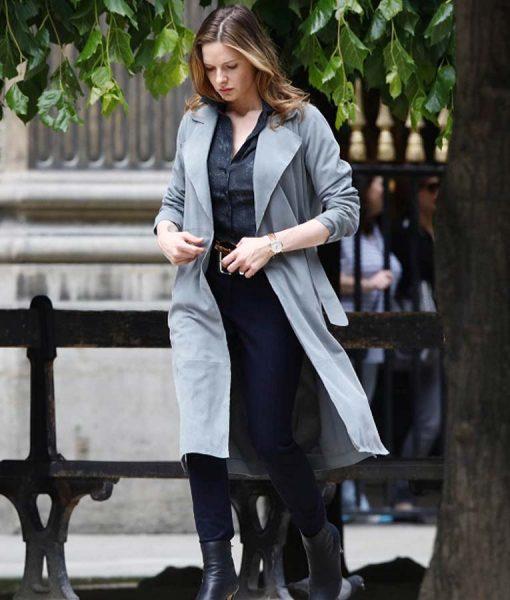 MI6 Rebecca Ferguson Trench Coat