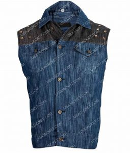 Infamous Second Son Denim Vest