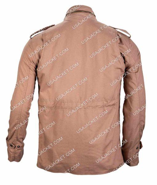 Allen White Shameless M65 Field Military Khaki Jacket