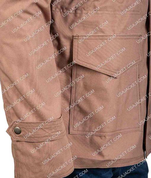 Jeremy Allen White Shameless Field Military Khaki Jacket