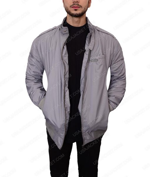 Stranger Things Grey Bomber Jacket