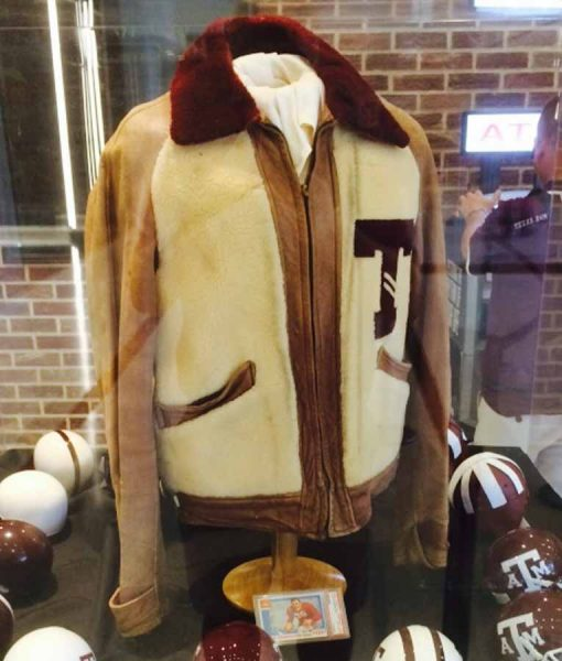 John Kimbrough Letterman Jacket