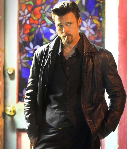 Killing Them Softly Brad Pitt Leather Jacket