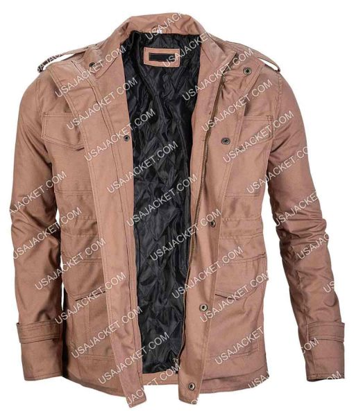 Jeremy Allen White Shameless Military Khaki Jacket