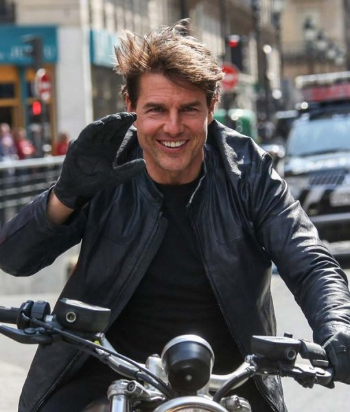 Tom Cruise MI6 Leather Jacket