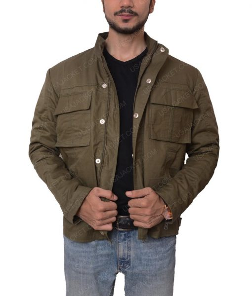 Nathan Drake Lightweight Grey Jacket
