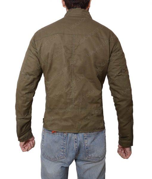 Nathan Drake Lightweight Grey Slimfit Jacket