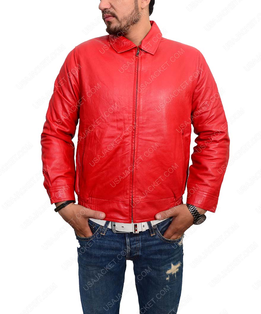 c5915de731a Rebel Without A Cause James Dean Red Jacket - USA Jacket