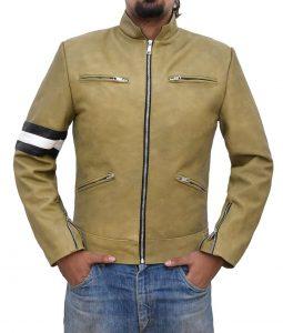 Samuel Barnett Café Racer Dirk Gently's Holistic Detactive Jacket