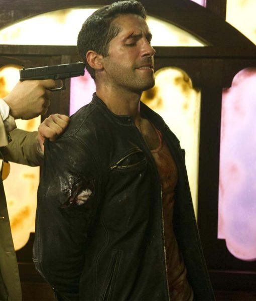 Scott Adkins The Man El Gringo Black Jacket