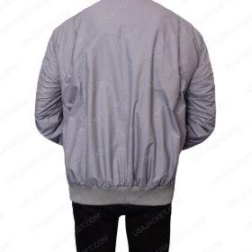 Steve Harrington Grey Bomber Jacket