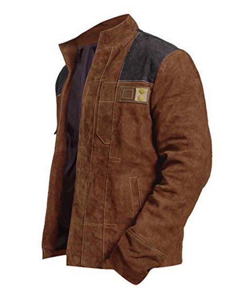 Han Solo Suede Jacket