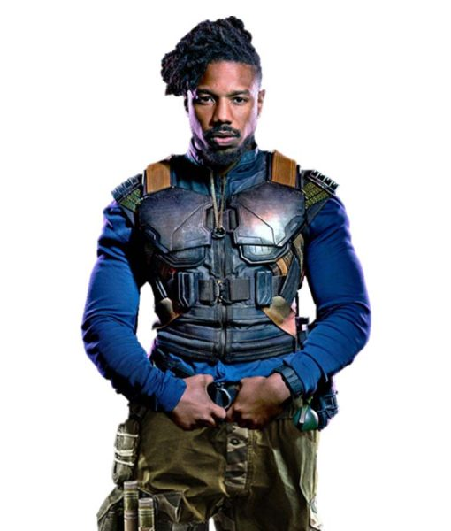 Erik Killmonger Military Vest