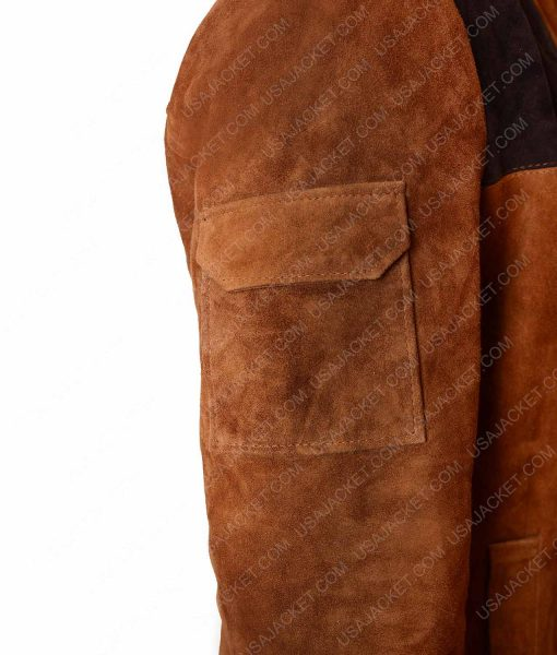 Han Solo A Star Wars Story Brown Leather Jacket