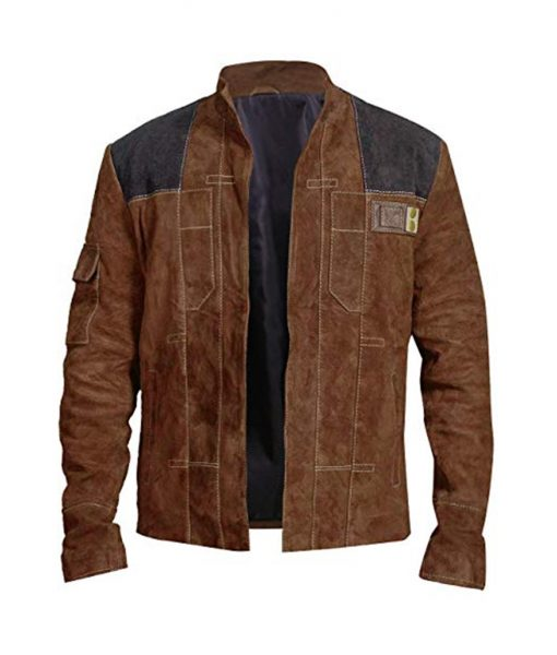 Solo A Star Wars Story Han Solo Suede Jacket