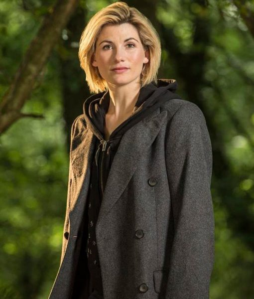 Jodie Whittaker 13th Doctor Who Grey Coat