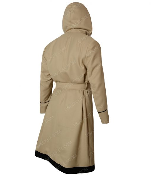 13th Doctor Who Jodie Whittaker Rainbow Hooded Coat