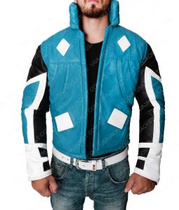 Blue Marvel Adam Brashear Leather Jacket