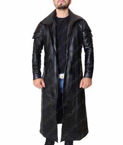 Star Wars DJ Leather Trench Coat