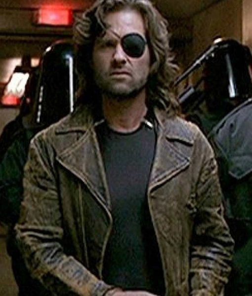 Escape From New York Snake Plissken Leather Jacket