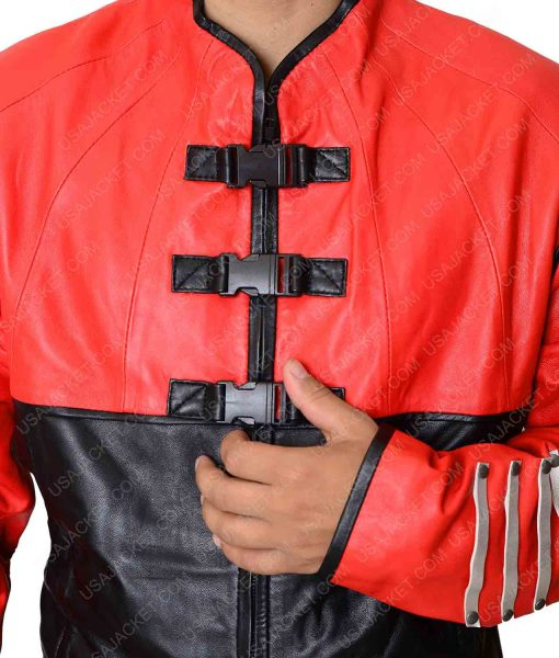 Farscape John Chrichton Red Leather Jacket