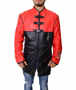 Farscape Red Leather Jacket